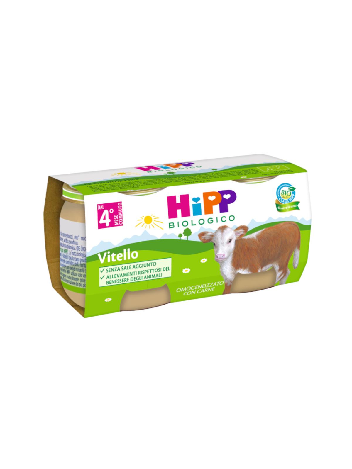 Omogeneizzato vitello 2x80g - Hipp