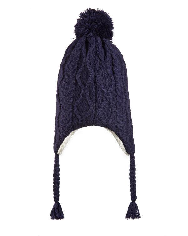 Cappellino tricot blu scuro - Prénatal