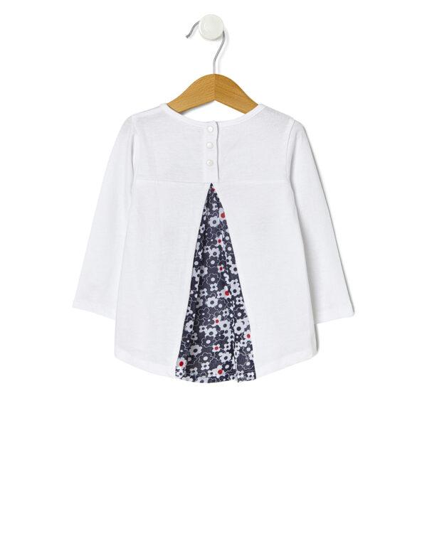 T-shirt con stampa e ricami - Prénatal