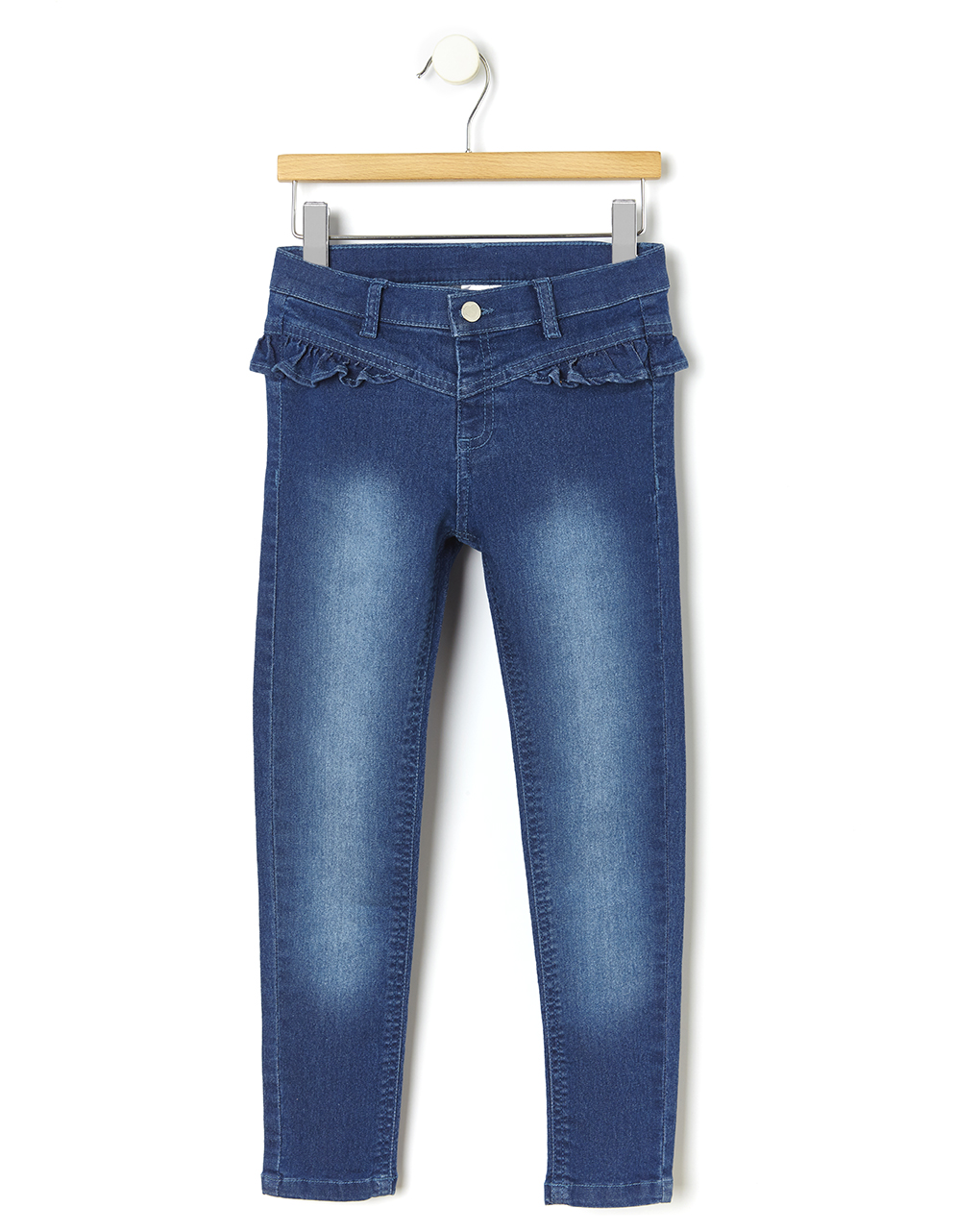 Pantalone denim con rouches - Prénatal