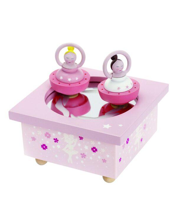 TROUSSELIER - DANCING MUSIC BOX BALLERINA PINK - Trousselier