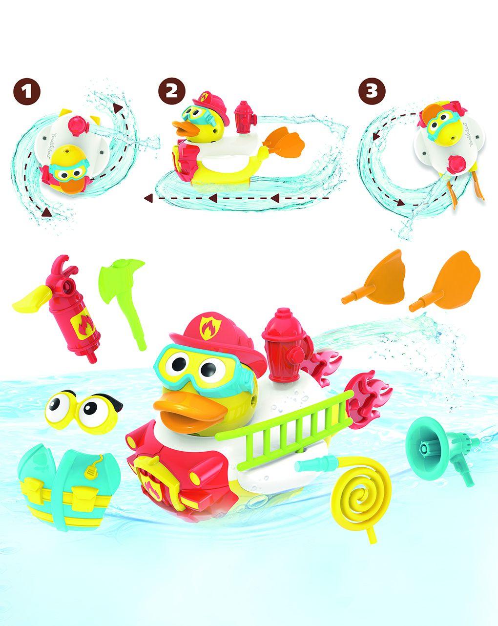 Yookidoo - jet duck - firefigher - Yookidoo
