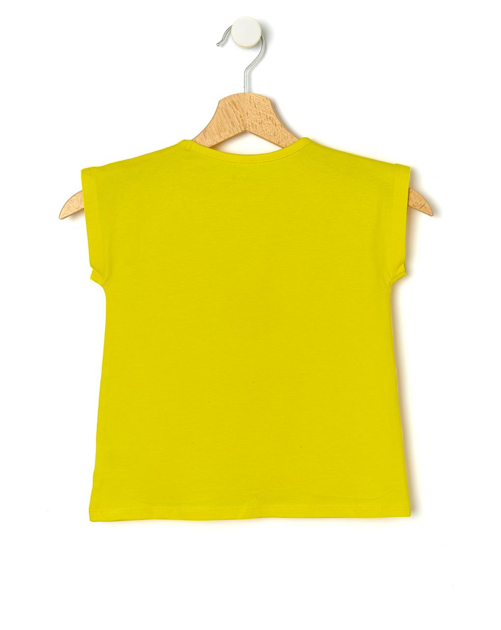T-shirt con margherite applicate - Prénatal