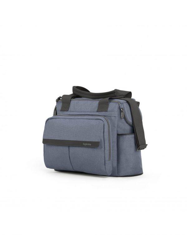 Inglesina Dual Bag Aptica, borsa modulabile con fasciatoio, Alaska Blue - Inglesina