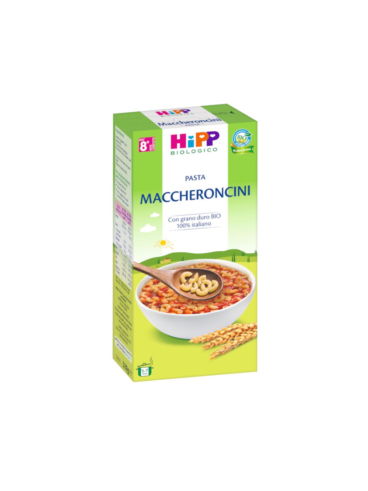 Pastina maccheroncini 320g - Hipp
