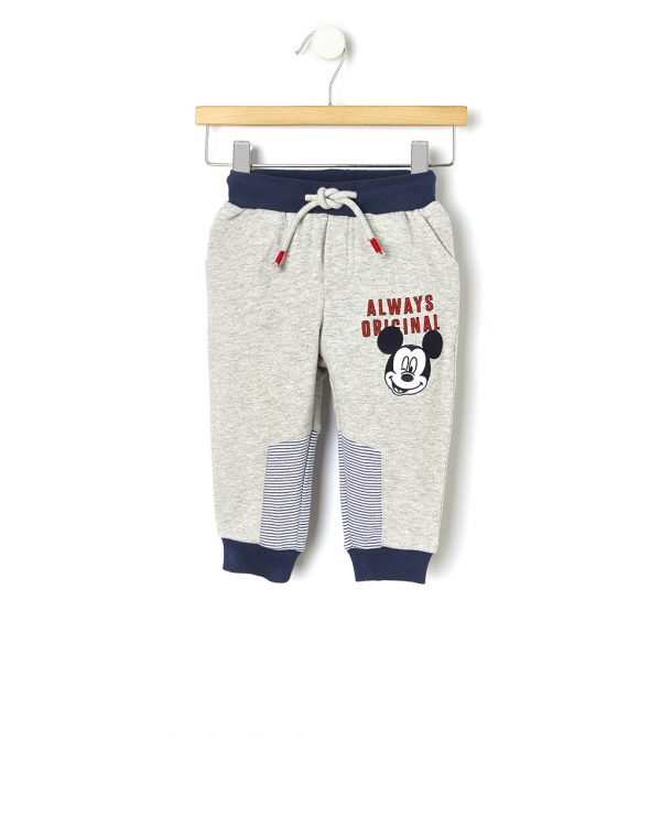 Pantalone in felpa con patch Mickey Mouse - Prénatal