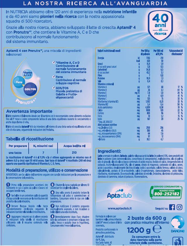 Aptamil - aptamil 4 1200 gr - Aptamil