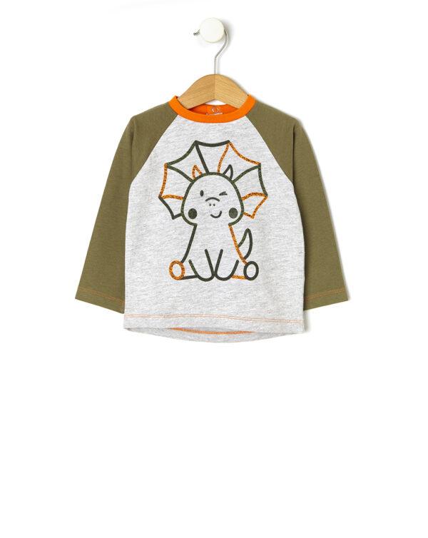 T-shirt con stampa dinosauro - Prénatal