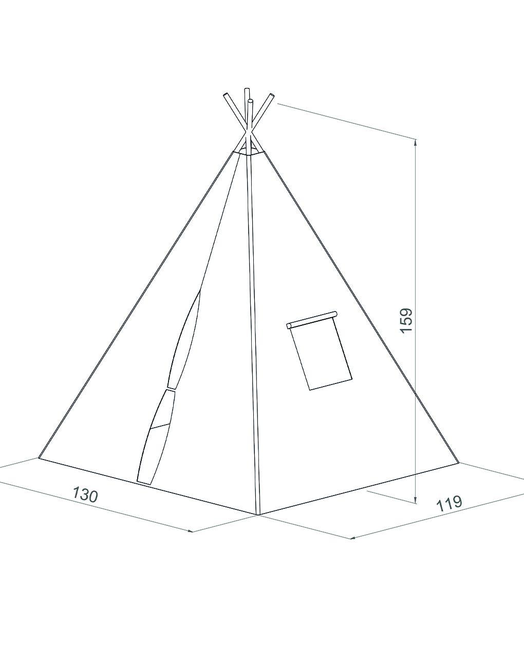 Sunny - teepee tent cosmo - Sunny