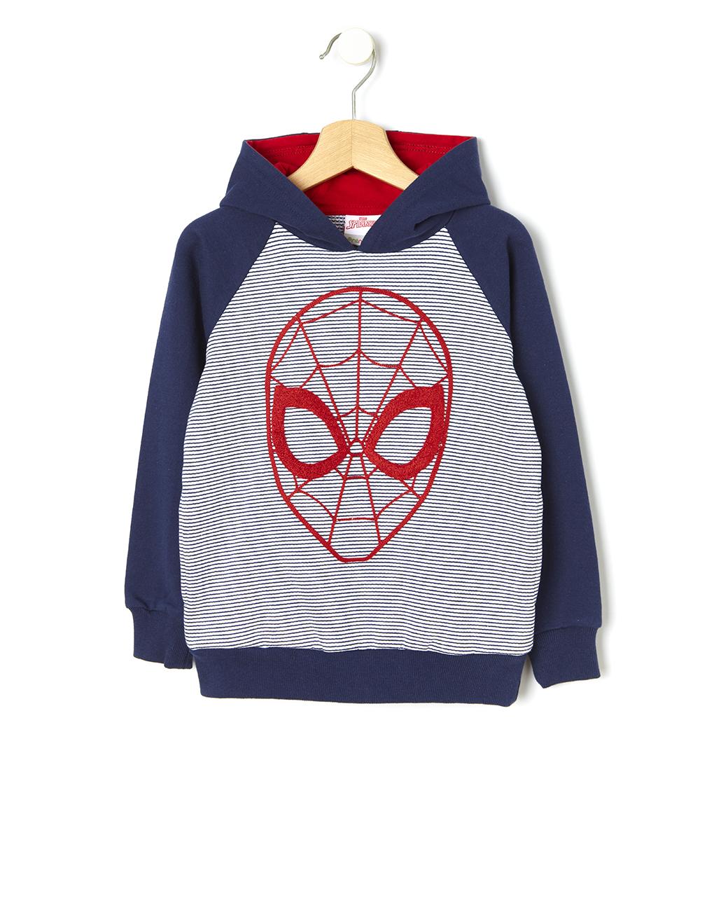 Felpa con cappuccio stampa spider-man - Prénatal