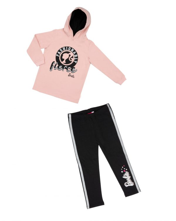 Set felpa e leggings Barbie - Prénatal