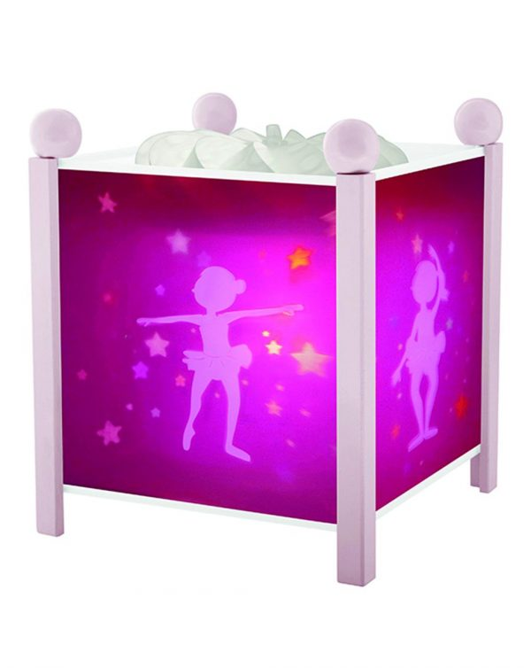 TROUSSELIER - NIGHT LIGHT - MAGIC LANTERN BALLERINA - PINK 12V - Trousselier
