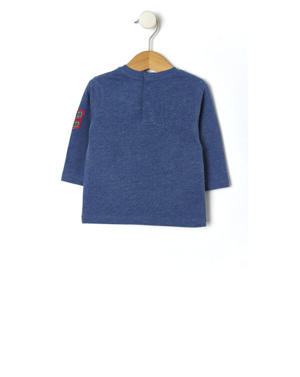 T-shirt con patch orso bianco - Prénatal