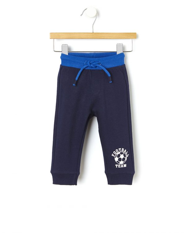 Pantalone in felpa basico con stampa - Prénatal