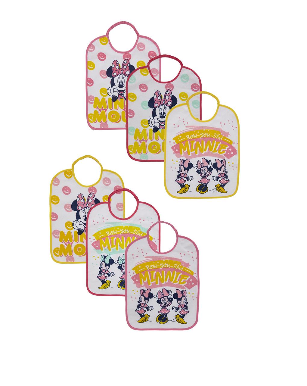 Pack 6 bavaglini plastificati - Prénatal