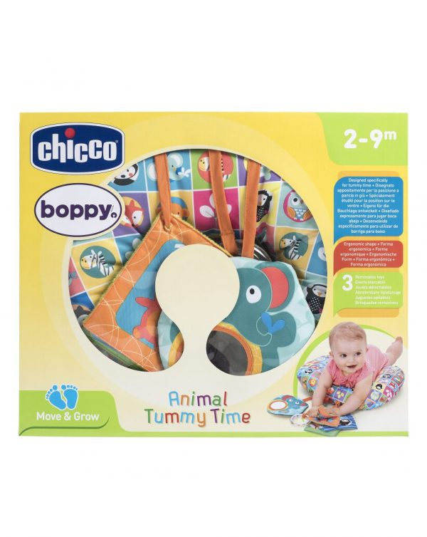 CHICCO - CUSCINO ANIMAL TUMMY TIME - Chicco