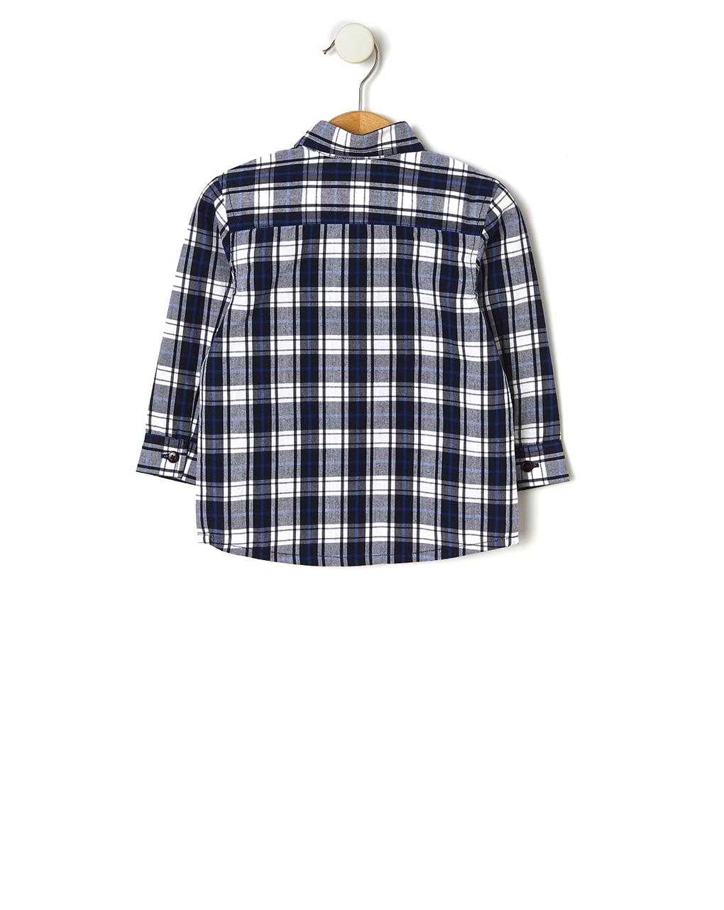 Camicia fantasia scozzese - Prénatal