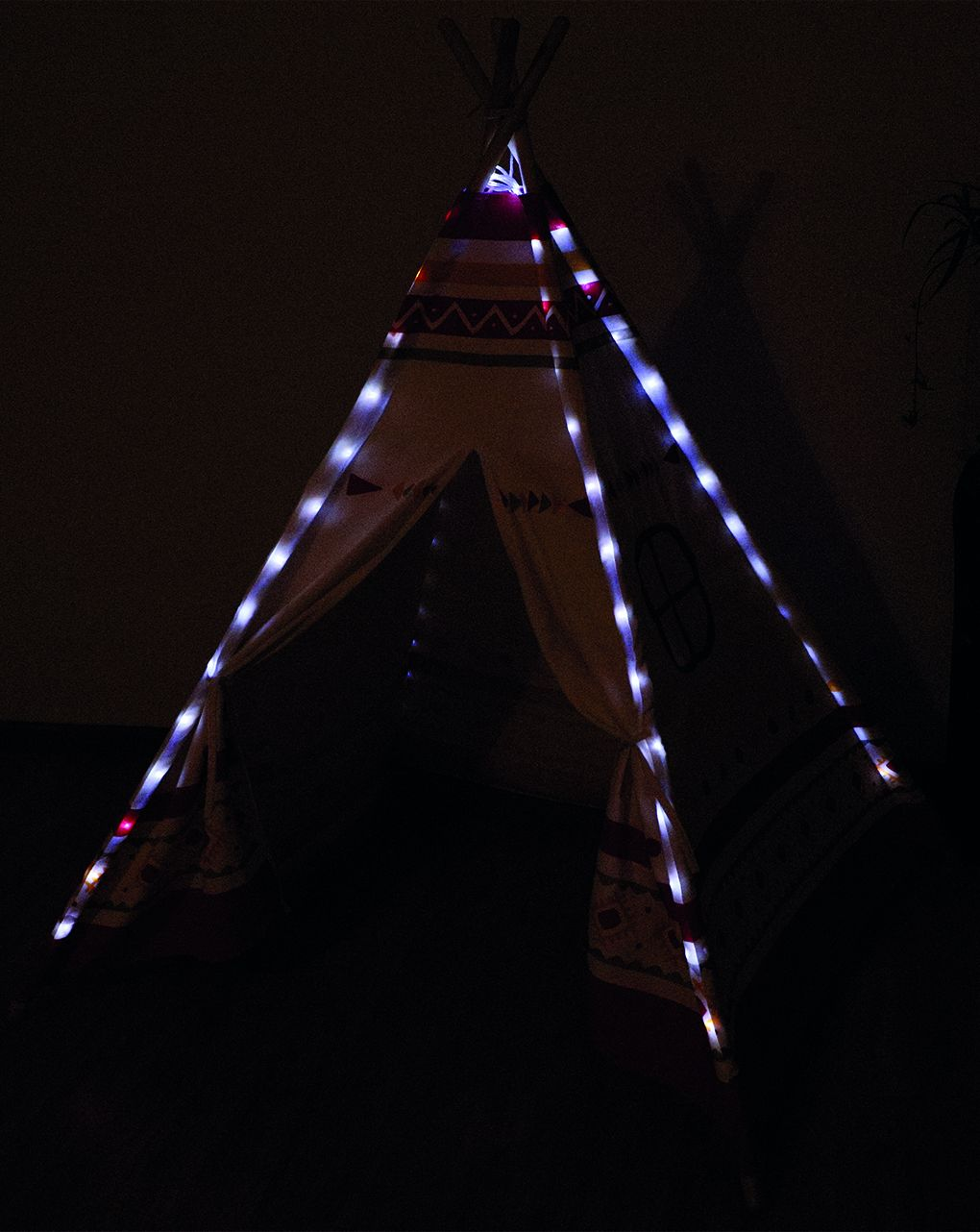 Sunny - teepee tent led - red - Sunny