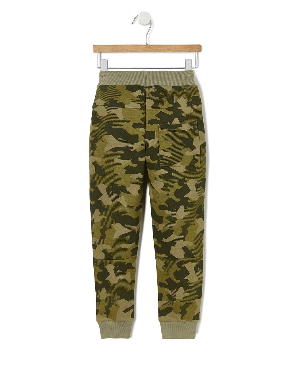 Pantaloni in felpa con fantasia camouflage - Prénatal