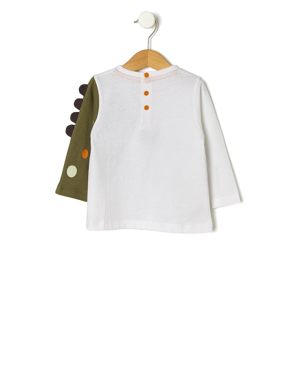 T-shirt con stampa dinosauri - Prénatal