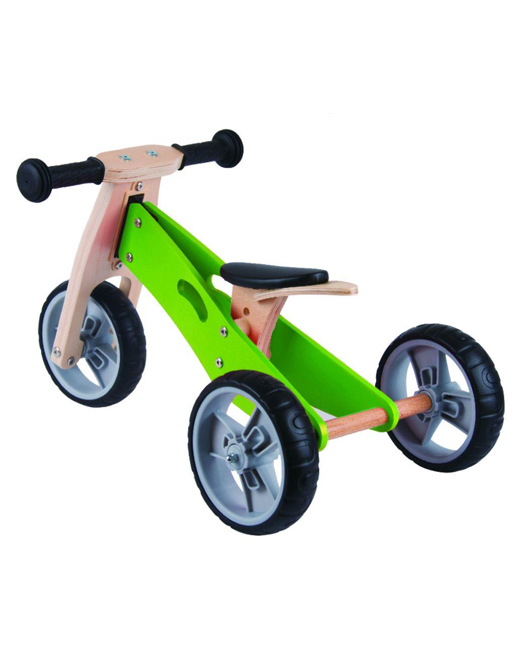 Udeas - minibike 2 in 1 - verde - Udeas