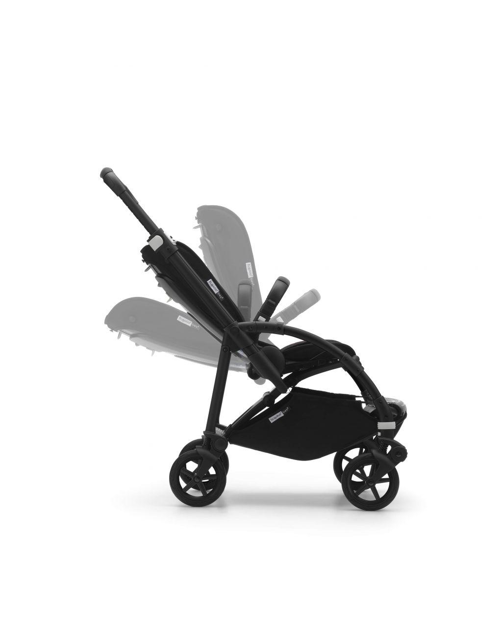 Bugaboo bee 6 completo alu/grigio - grigio melange - Bugaboo