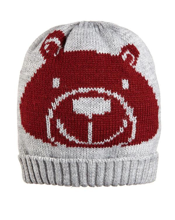 Cappellino tricot con orso - Prénatal