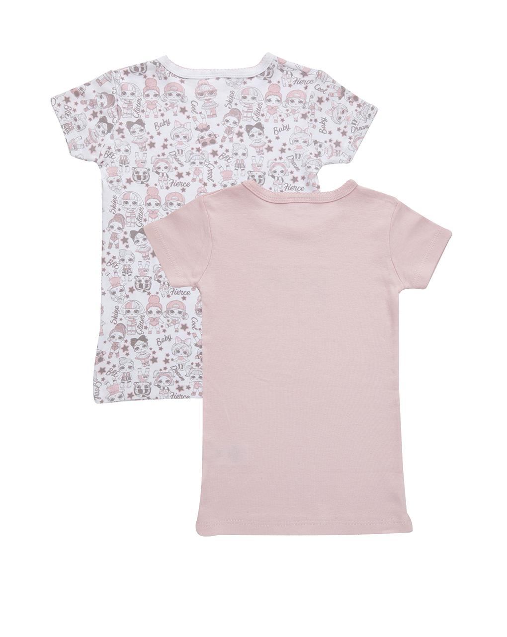 Pack 2 t-shirt stampa lol - Prénatal