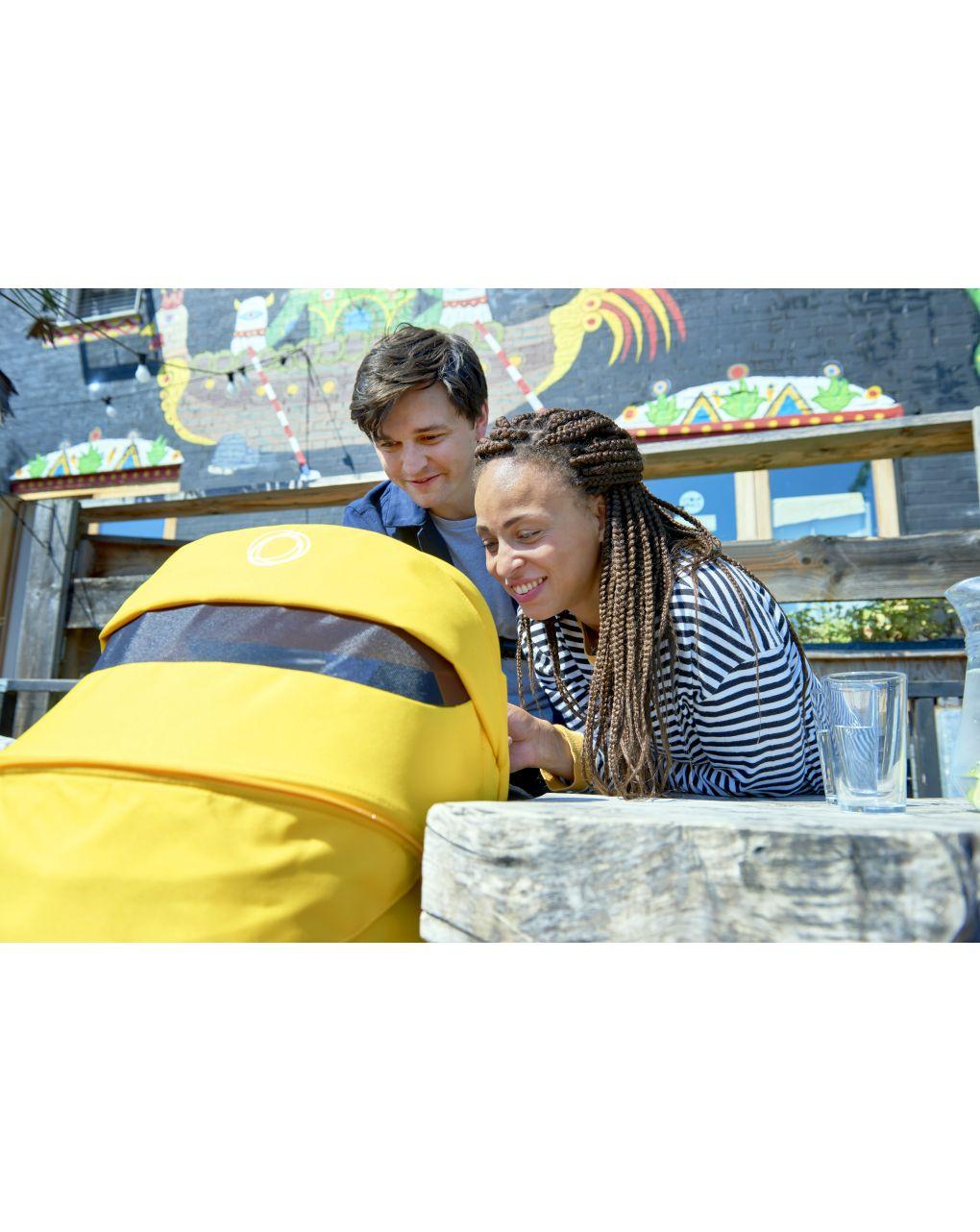 Bugaboo bee 6 completo nero/nero-giallo limone - Bugaboo