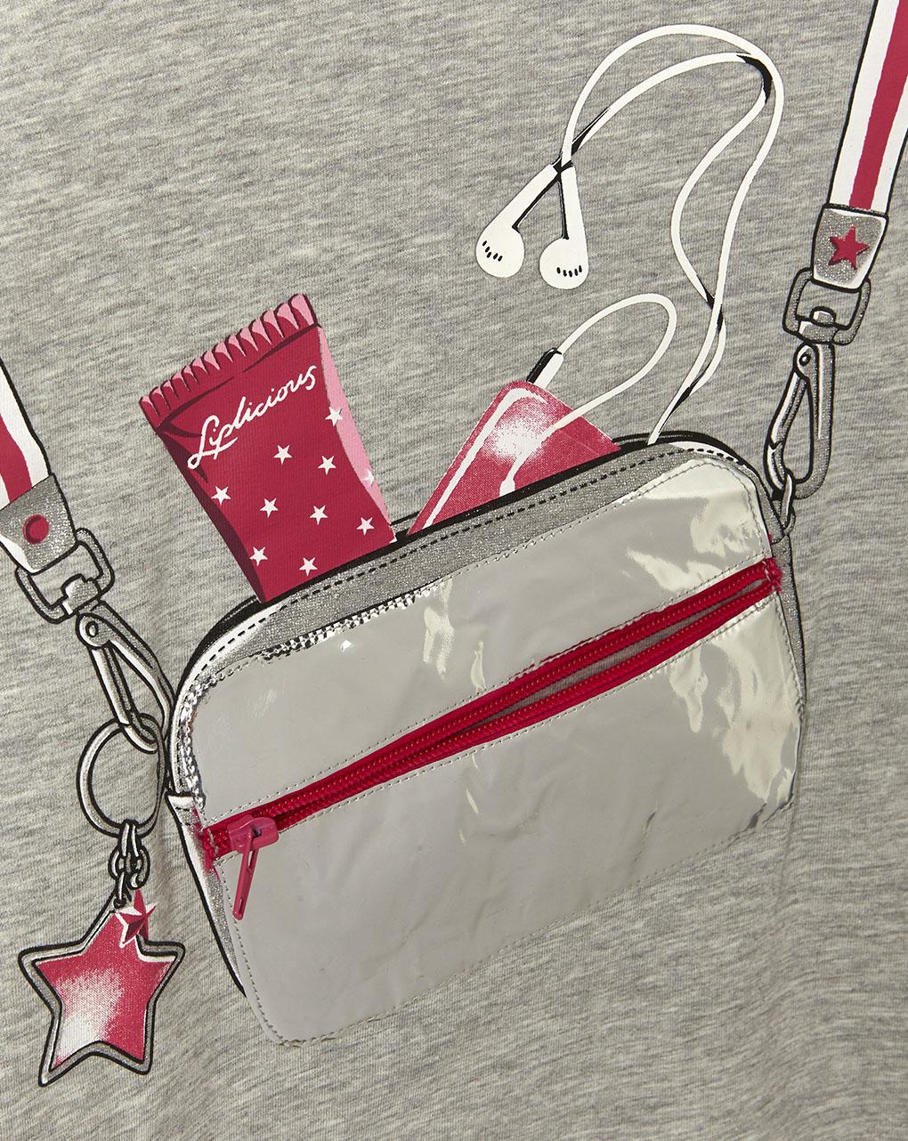 T-shirt maniche lunghe con stampa e applicazione - Prénatal