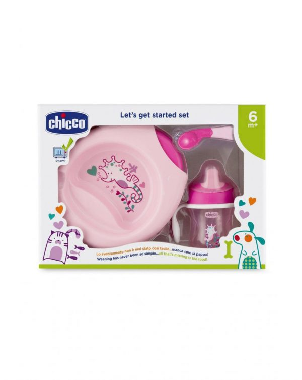 SET PAPPA 6m+ ROSA - Chicco