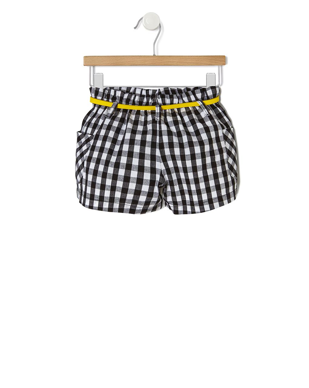 Pantaloncino popeline vichy - Prénatal