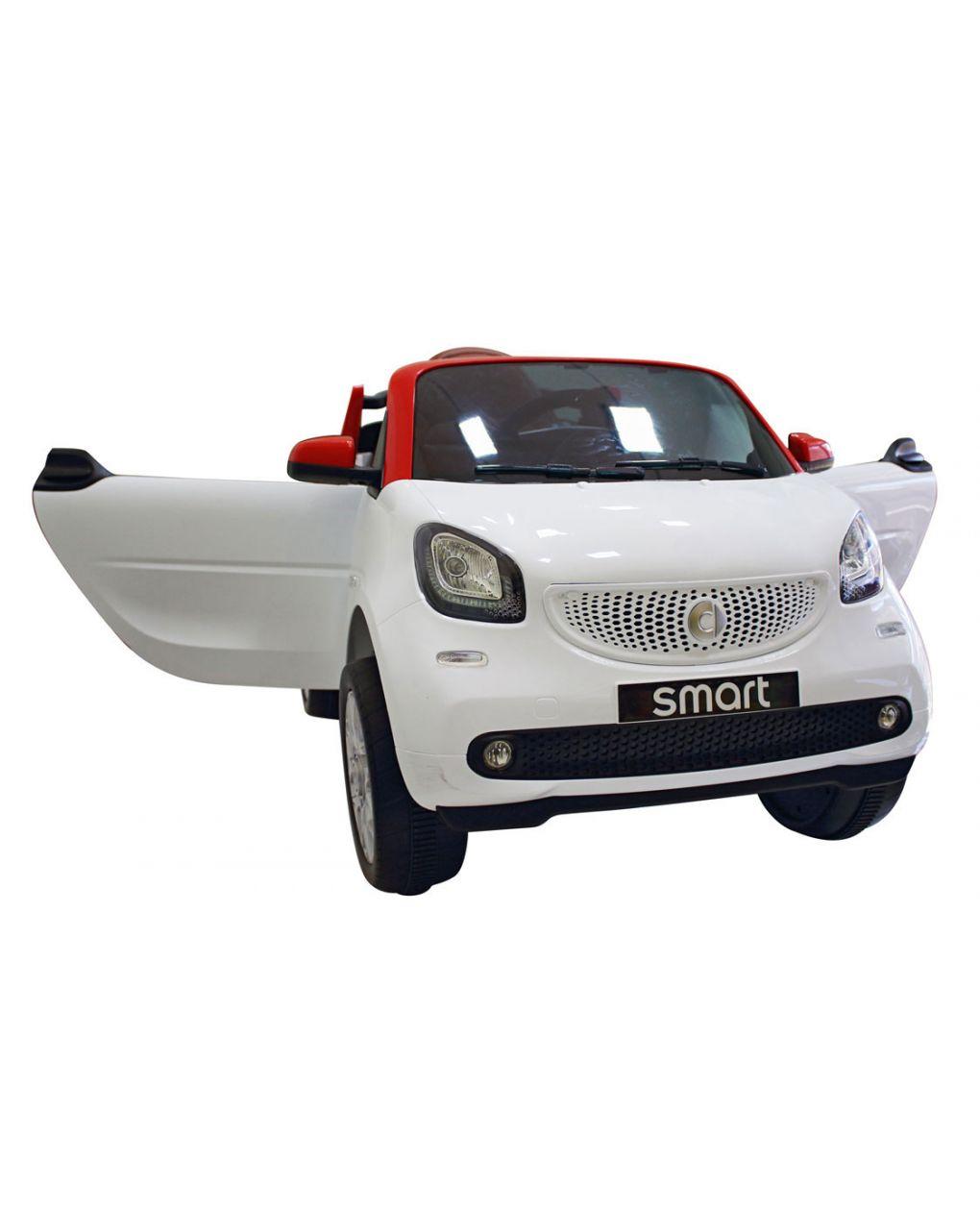 Smart bianca mp4 + ecopelle 12 volt - Giaquinto