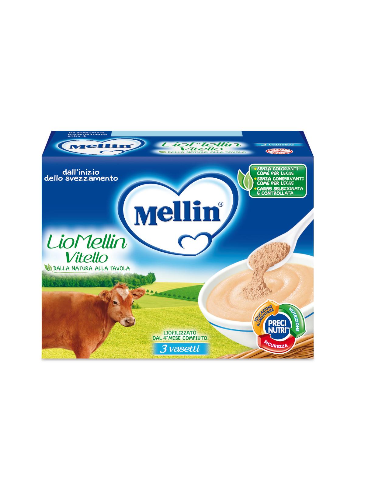 Mellin liofilizzato vitello 3x10 gr - Mellin
