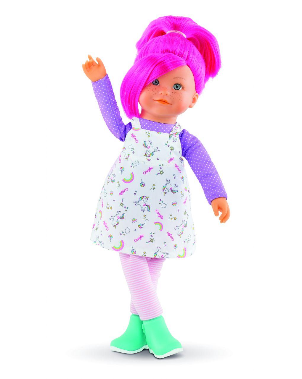 Corolle - rainbow doll - nephelie - Corolle