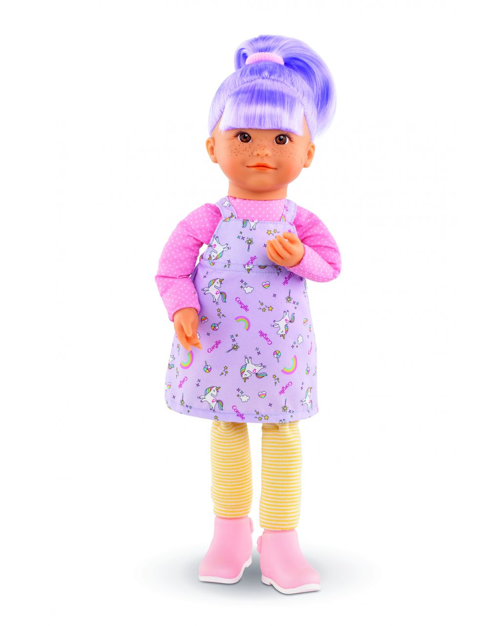 Corolle - rainbow doll - iris - Corolle