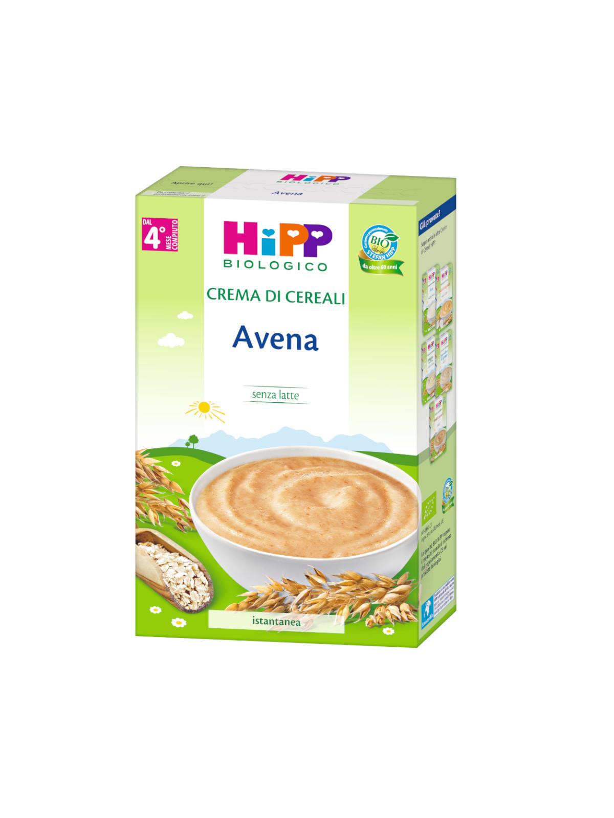 Crema di cereali avena 200g - Hipp