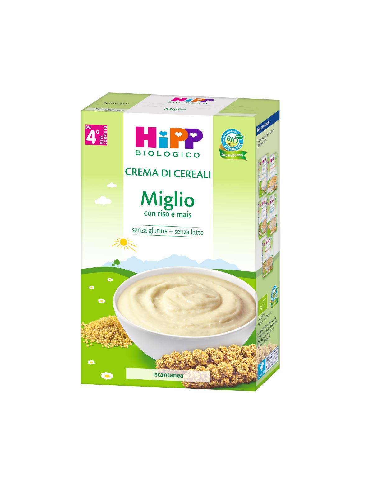Crema di cereali miglio 200g - Hipp