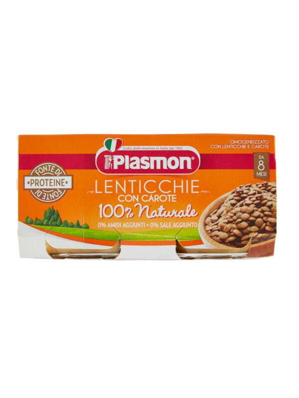 Plasmon - Omogeneizzato Lenticchie - 2x80g