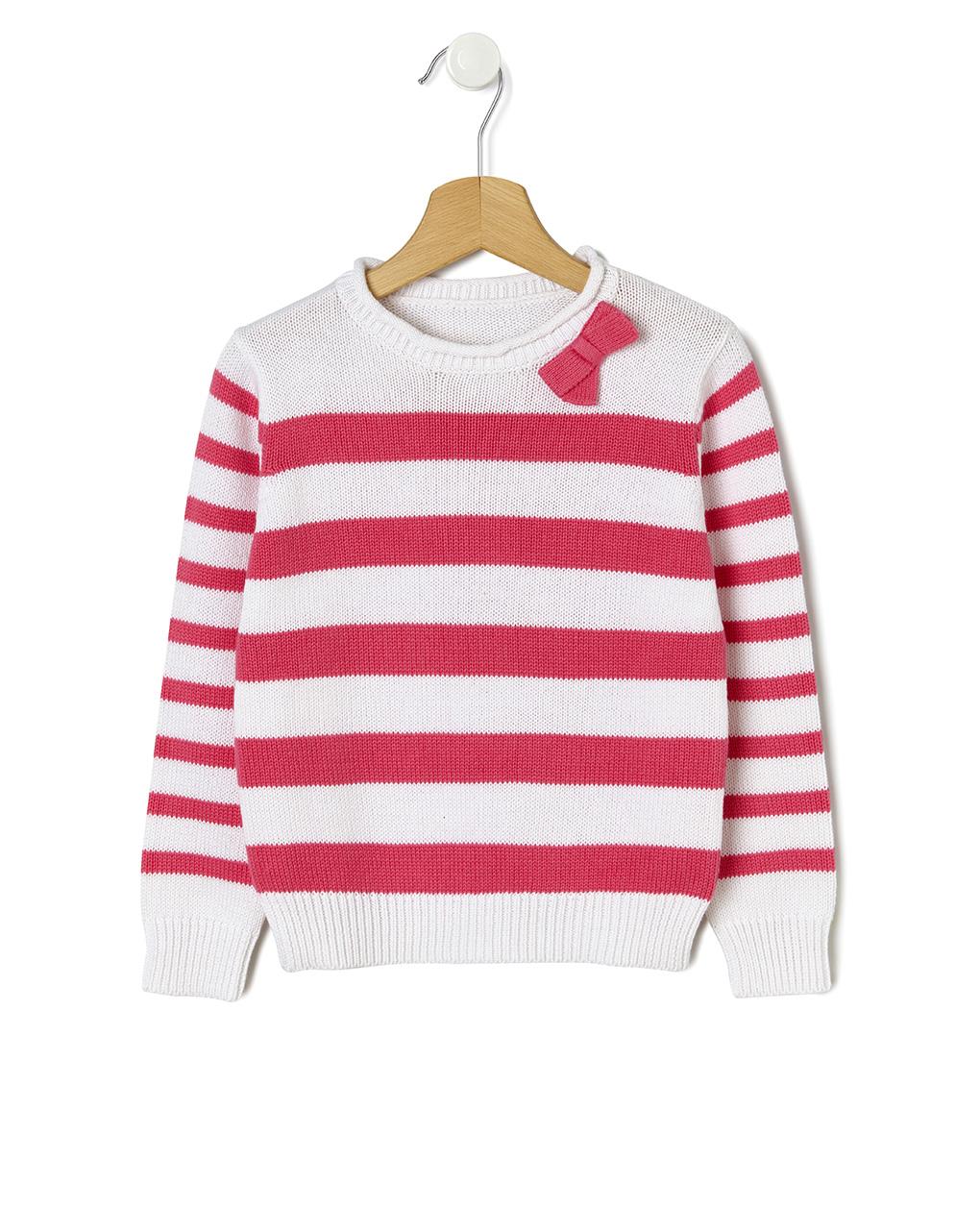 Maglia basica tricot a righe - Prénatal