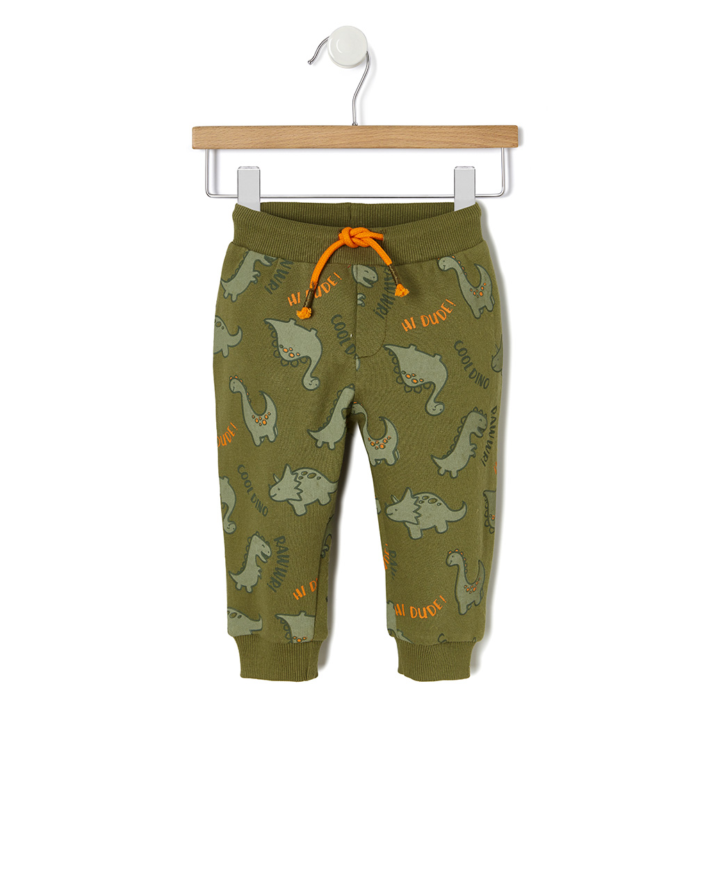Pantaloni in felpa con stampa dinosauri - Prénatal