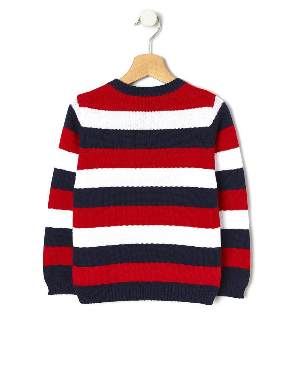 Maglia tricot basica a righe - Prénatal
