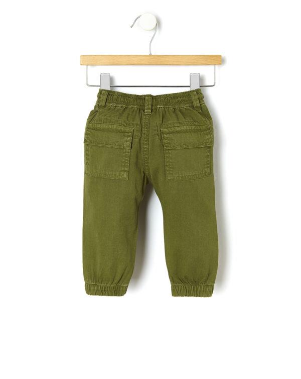 Pantaloni twill con ricamo dinosauro - Prénatal