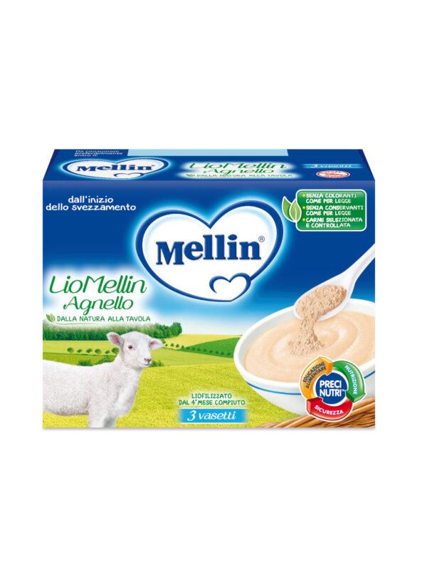 MELLIN Liofilizzato agnello 3x10 gr