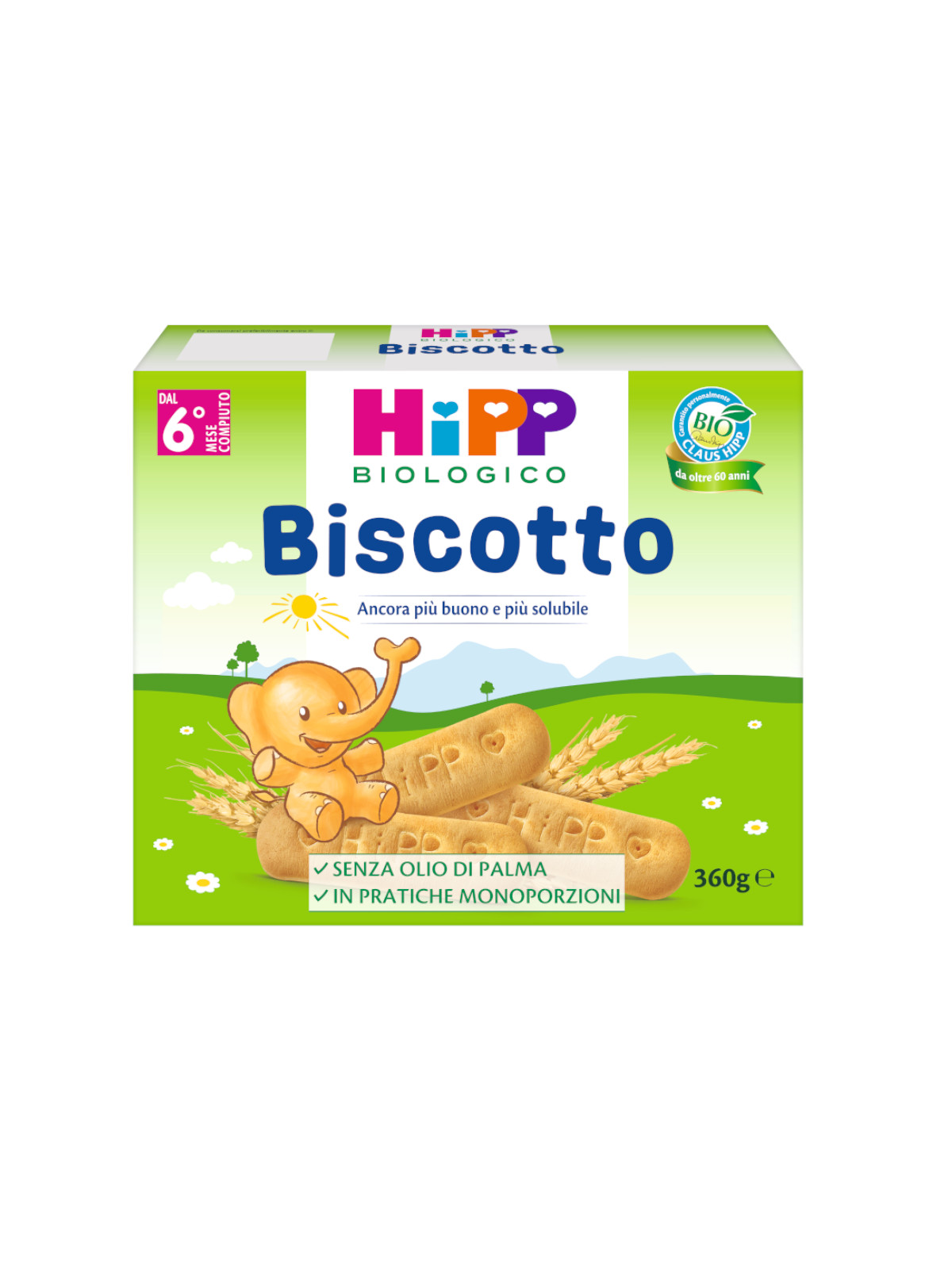 Biscotto solubile 360g - Hipp