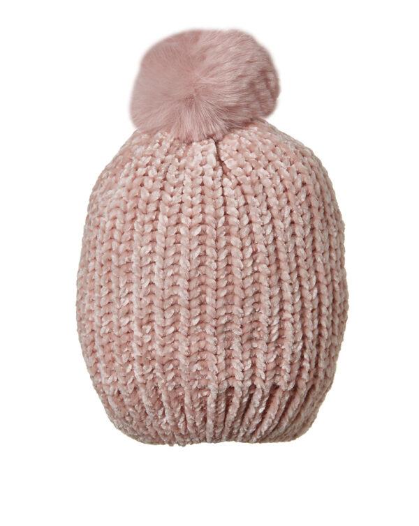 Cappellino in ciniglia con pon pon - Prénatal