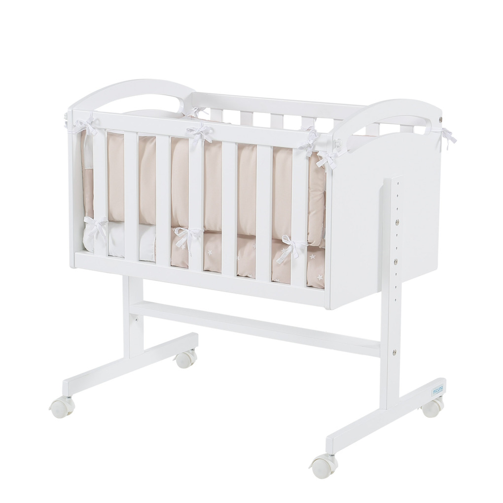 Mini culla co-sleeping dreams beige (struttura+rivestimento) - Micuna