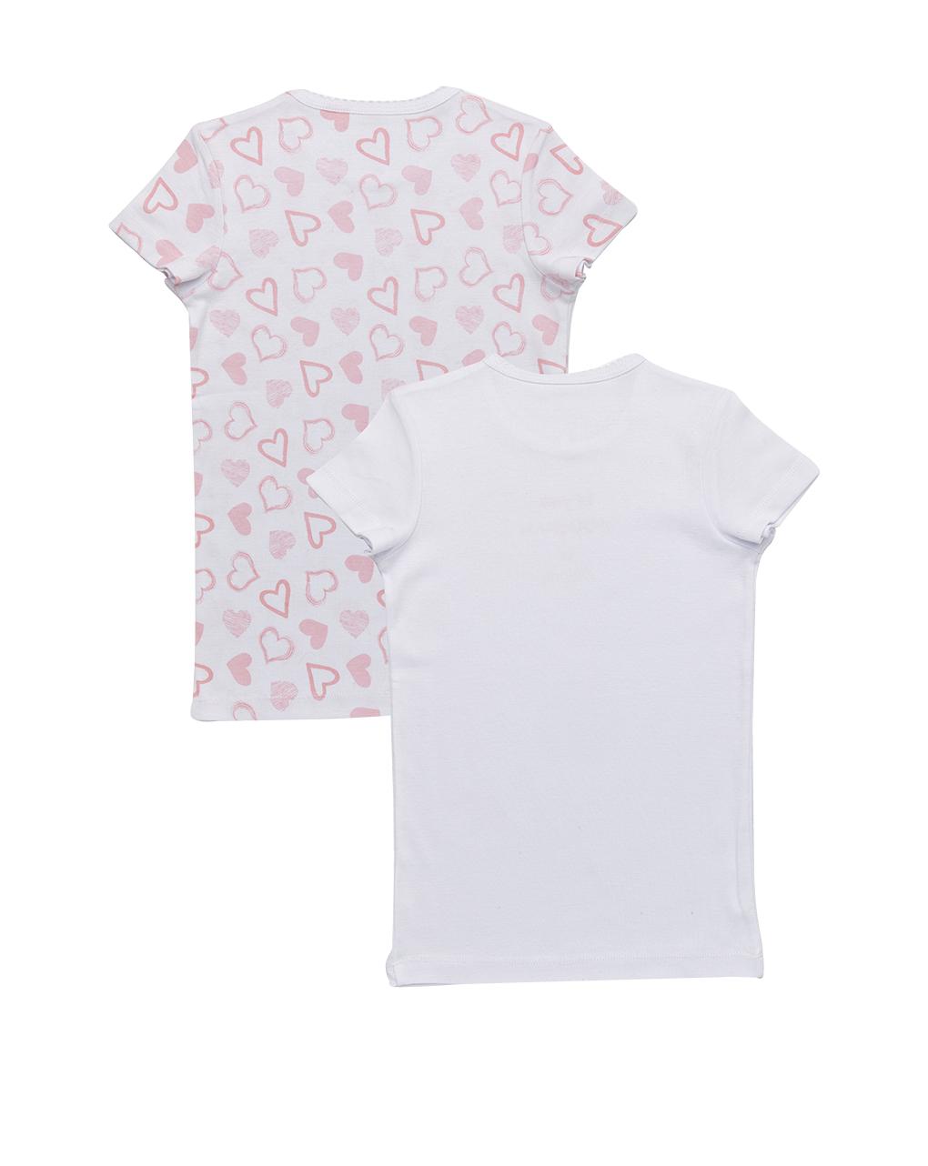 Pack 2 t-shirt stampa cuori - Prénatal