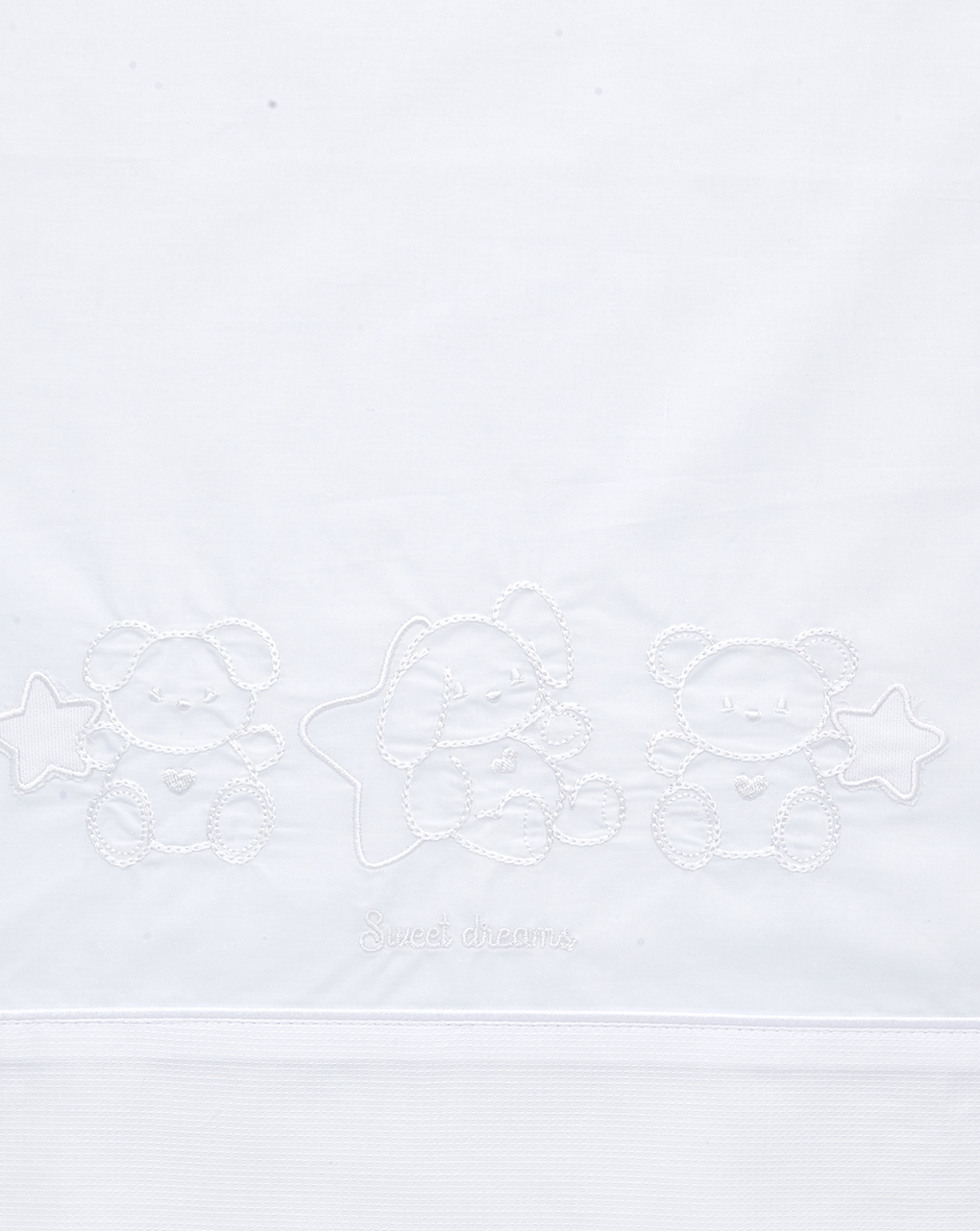 Set culla/carrozzina 3 pezzi con ricamo - Prénatal
