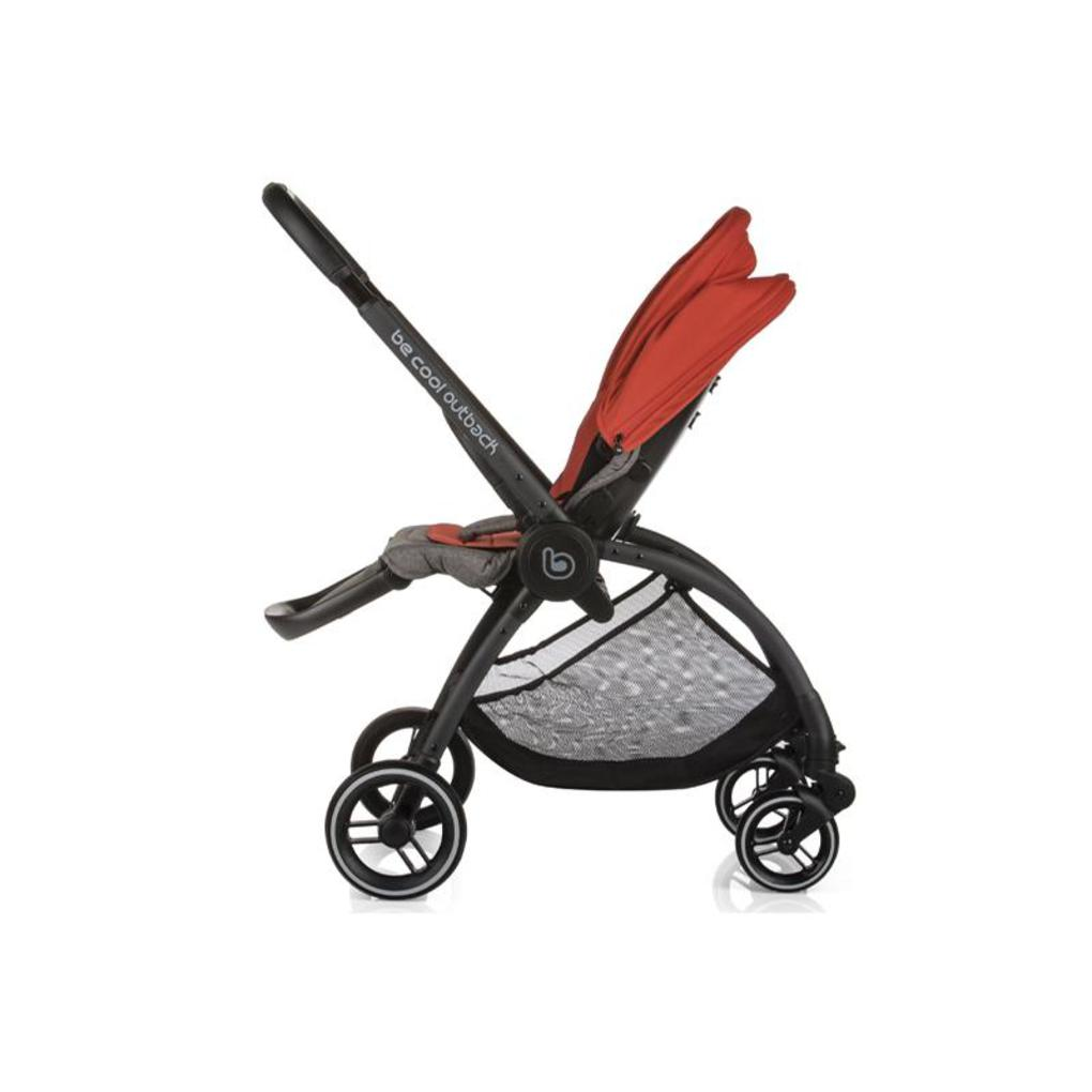 Seggiolino modulare outback be solid-poppy - Be Cool